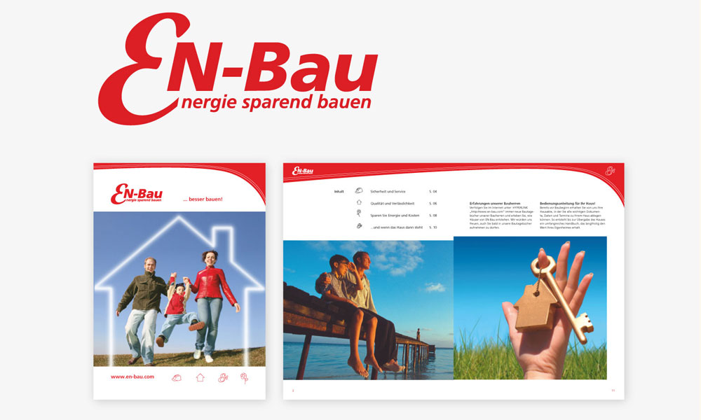 En-Bau -CORPORATE IDENTITY, WERBEMITTEL
