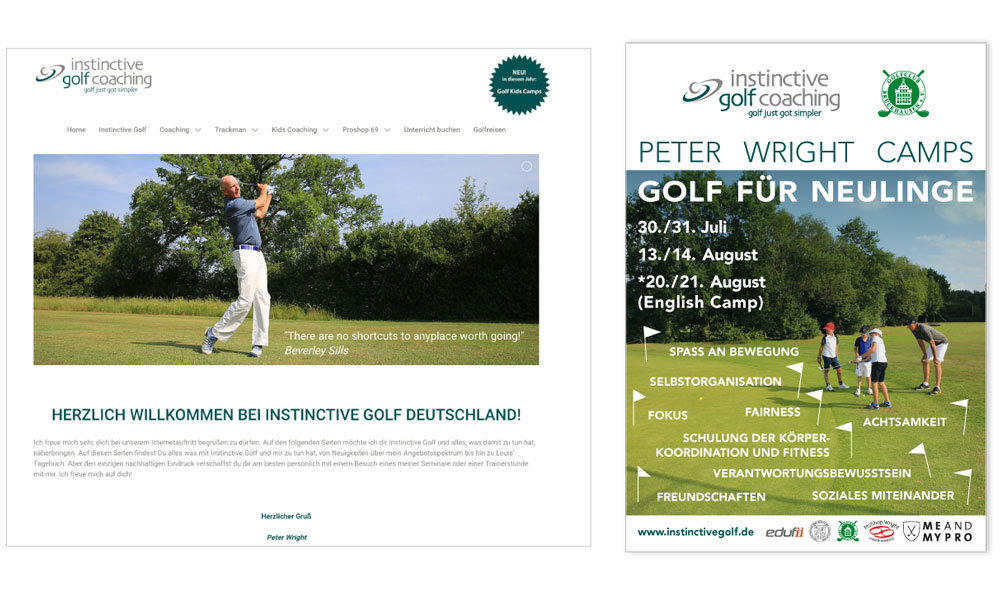 Peter Wright  instinktive golfcoaching